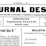La collection complète du ''Journal des 8'' disponible en consultation.