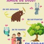 El amor de Dios para niños