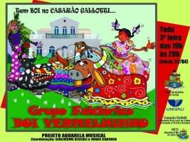 Projeto Boi-de-mamão é realizado no Casarão Gallot...