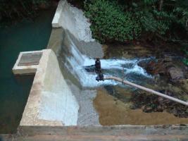 Carlão destaca reajuste na água em Nova Trento