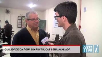 Água do Rio Tijucas poderá ser utilizada em breve...