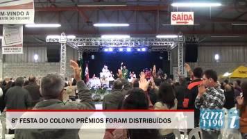 Festa do colono em São João Batista