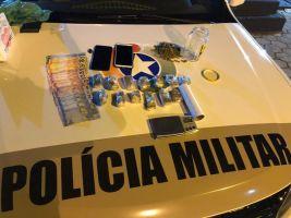 Polícia Militar de SJB prende casal com drogas