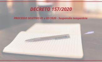 Prefeitura de Nova Trento suspende processo seleti...