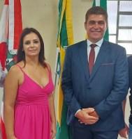 VALMOR E VIVIANE SÃO EMPOSSADOS EM MAJOR GERCINO