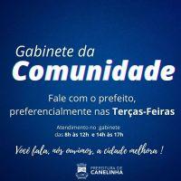 Prefeito de Canelinha abre as portas do gabinete p...