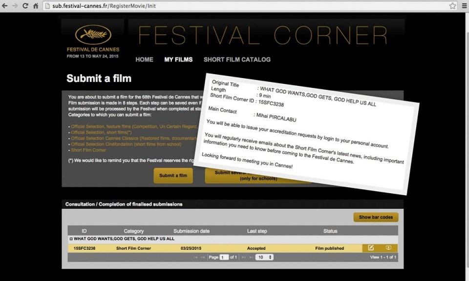 raspuns Cannes