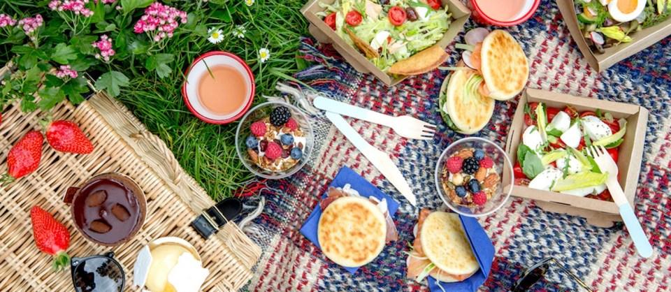 picnic in natura