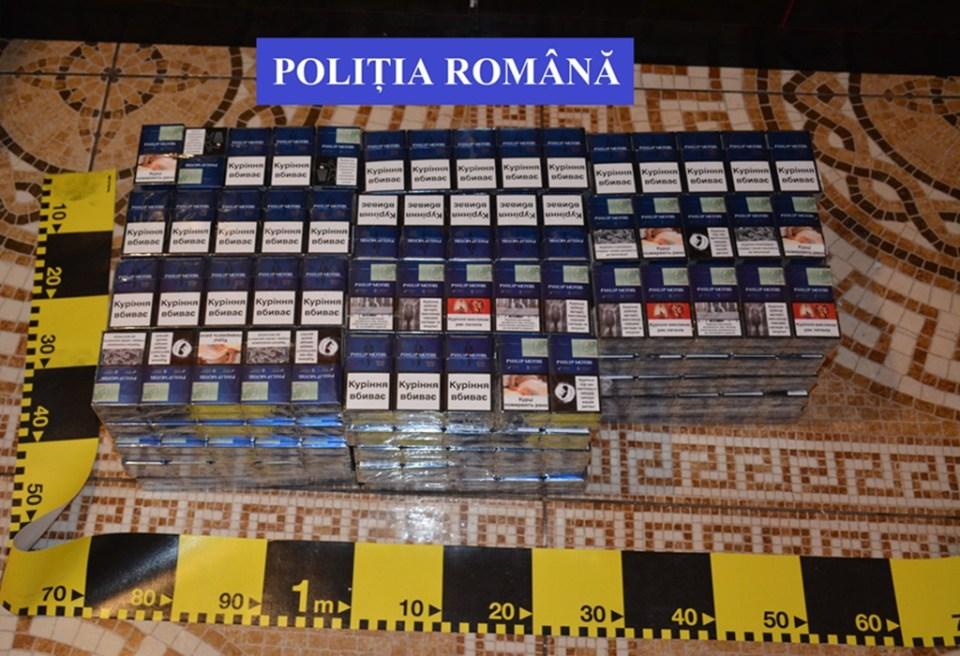 trafic cu tigari