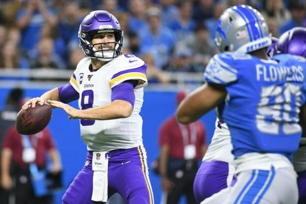 Vikings top Lions in Ford Field shootout