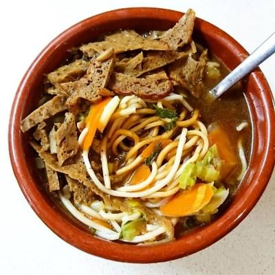 Receta: Ramen vegano o sopa de fideos chinos