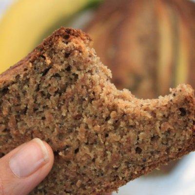 Pan de plátano maduro