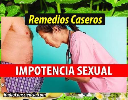 Remedio para la Impotencia Sexual