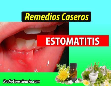 Remedio para la Estomatitis