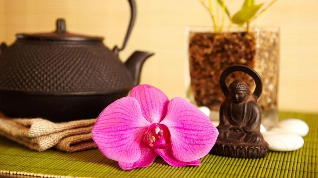 taza de te budista monjes significado