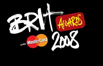Brit Awards 2008 - Poster