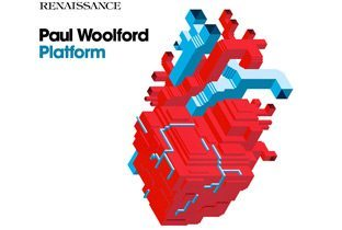 Platform by Paul Woolford - album cover with a heart cartoon map