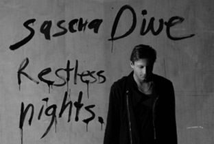 Restless Nights by Sascha Dive - cover album with sascha signature and photo