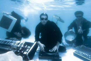 dop - playing music in a pool underwater