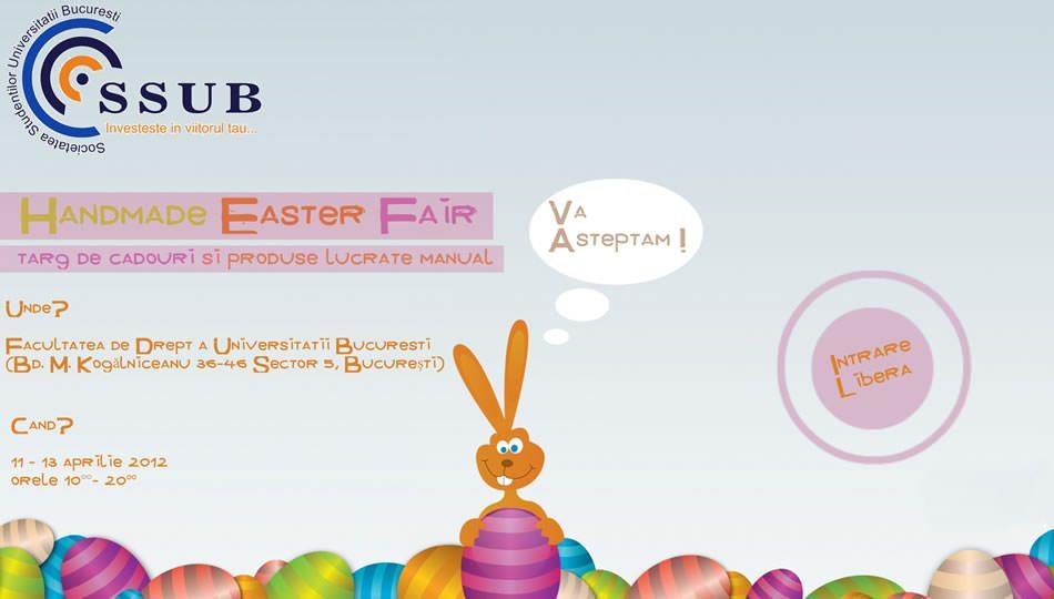Afis Handmade Easter Fair