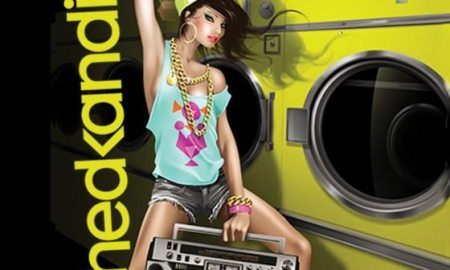 hedkandi, back to love - cover album with a cartoon girl dancing
