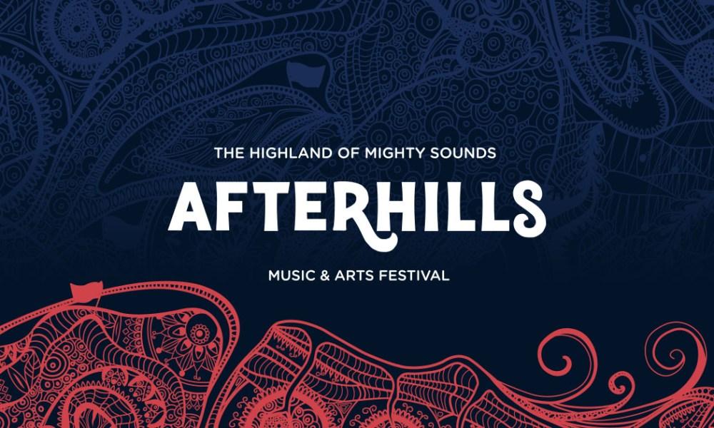 Afterhills logo festival