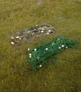 Unelte interzise de pescuit găsite într-o zonă strict protejată din Rezervație.