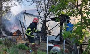 Incendiu la o gospodărie din Mineri