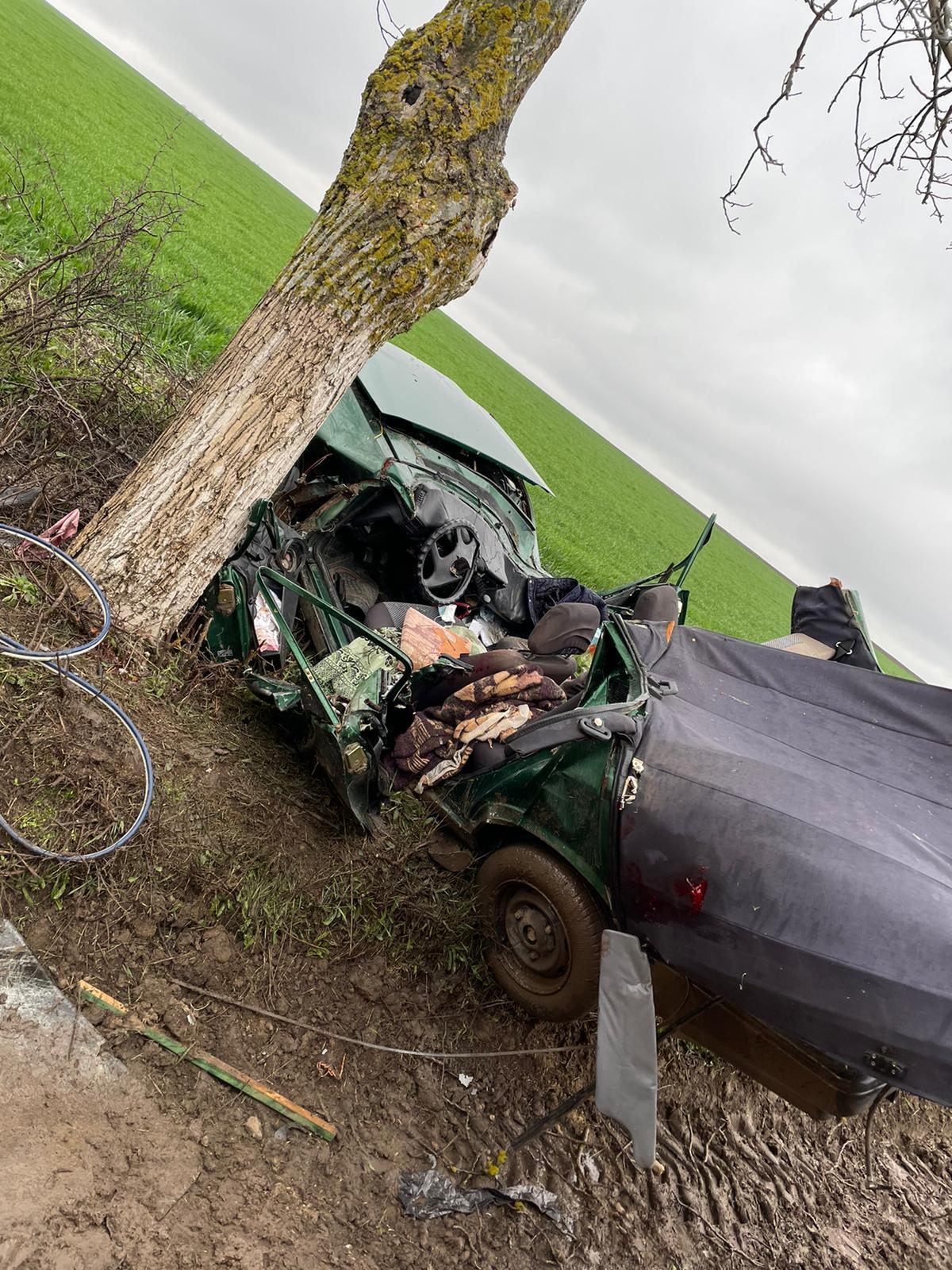 Accident mortal între Topolog și Saraiu