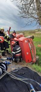 Accident cu două victime între localitățile Mihail Kogălniceanu și Babadag