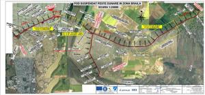 Podul peste Dunăre Tulcea- Brăila va fi dat în trafic la sfârșit de 2022