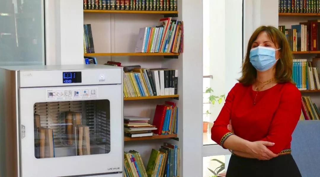 Biblioteca Județeană din Tulcea are la dispoziție 4 sterilizatoare de carte
