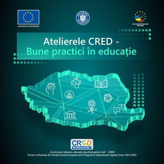"""""""Atelierele CRED – Bune practici în educație"""" –  mâine va fi un workshop la Tulcea"""