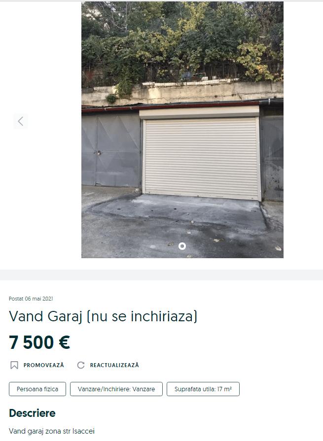 Atenție ! Toate garajele din municipiu se vor desființa