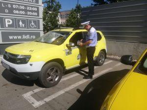 Taximetriști tulceni amendați că refuză curse scurte!