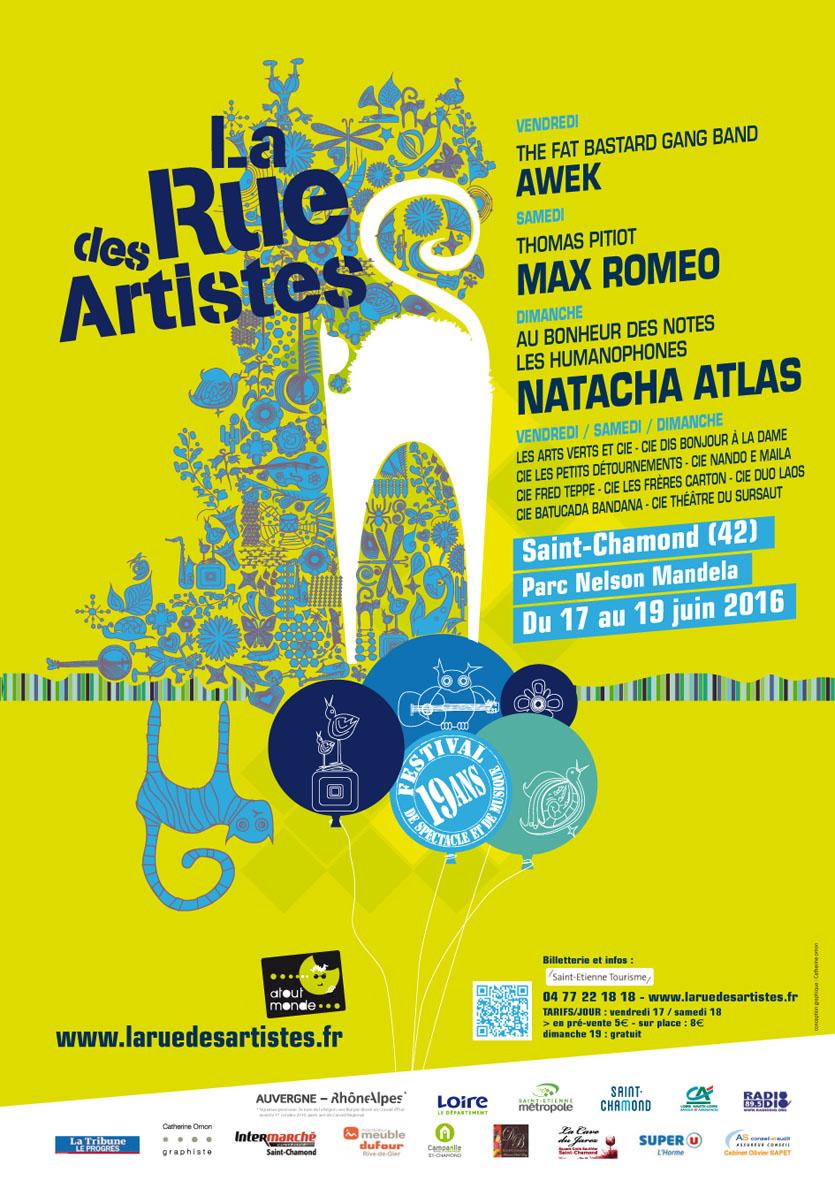 Festival La Rue Des Artistes 2016