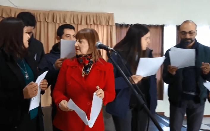 VIDEO | Profesores Baldomero Lillo de Lota interpretan himno de apoyo a su demandas