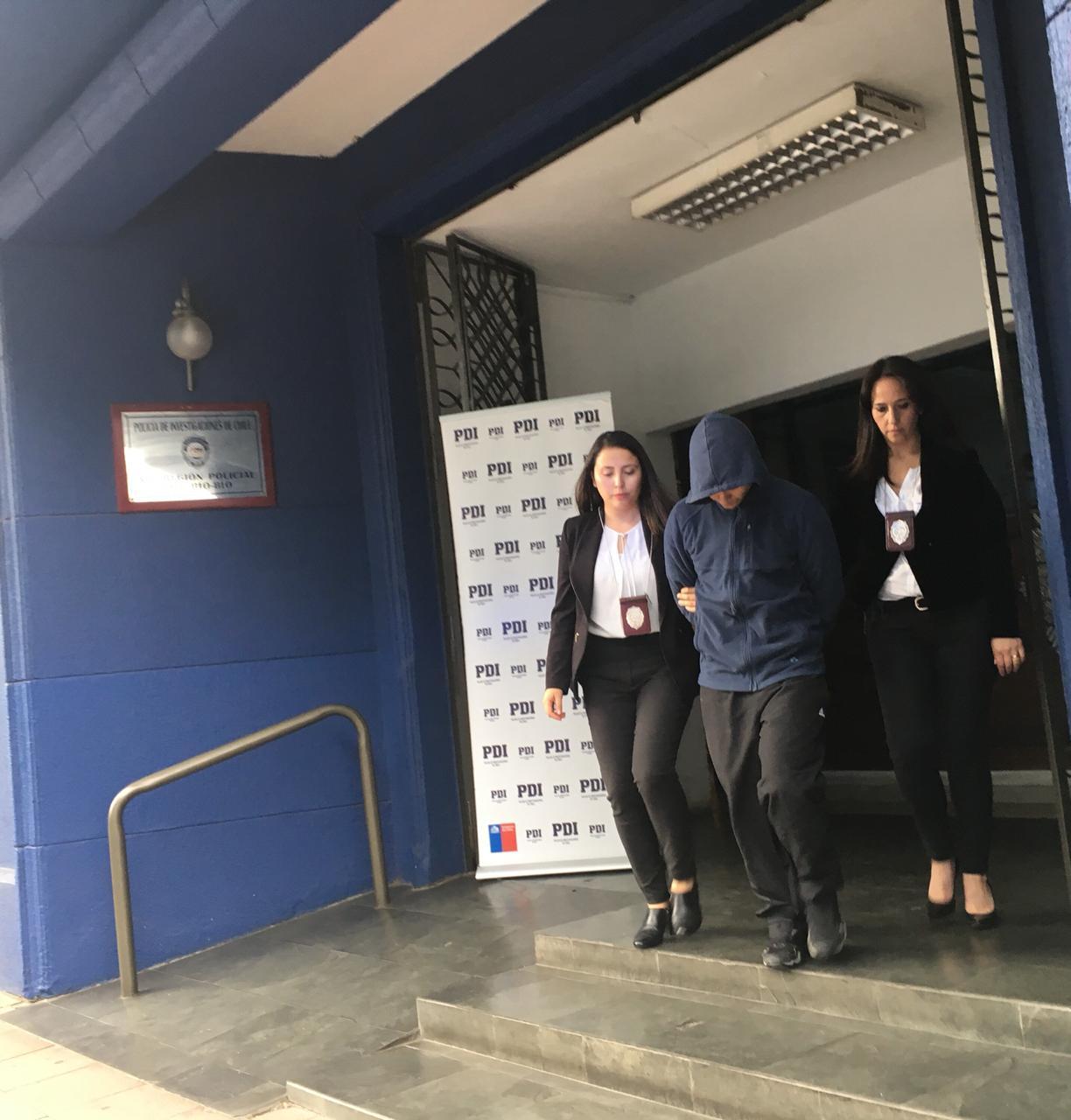 PDI CONCEPCIÓN DETUVO A HOMBRE POR ABUSO SEXUAL DE MENOR
