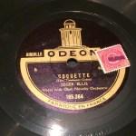 Coquette - disco pizarra gramofono