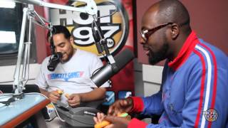 Wyclef Talks New Book & Lauryn Hill Love Affair on Hot 97