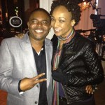 Look it's Siedah Garrett and RF Managing Editor Hassahn 1