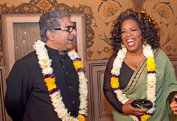 Oprah Winfrey and Deepak Chopra Launch New Meditation Experience