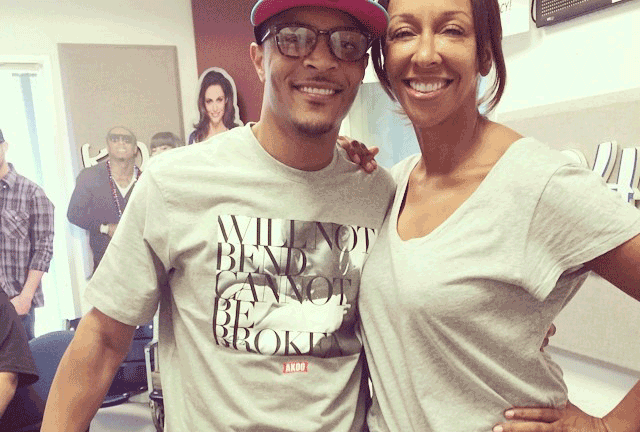 T.I. Stops by KKDA with DeDe McGuire