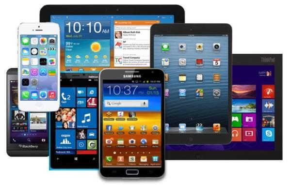 Smartphones-Laptops