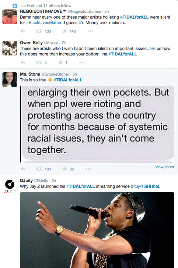 TIDAL, Great Idea at what other Costs? 2