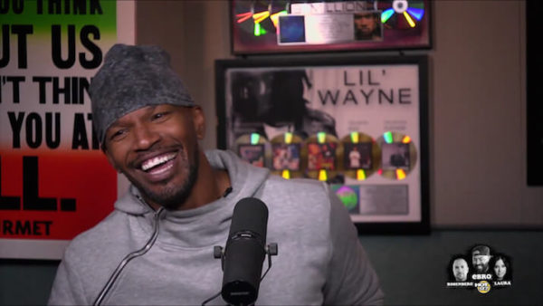 Hot 97 Gets Jamie Foxx to Reveal Mike Tyson Movie Opening