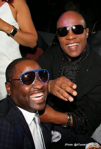 The Stars Were Out for Stevie Wonder's Surprise Birthday Party 4