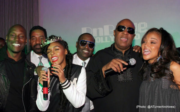 The Stars Were Out for Stevie Wonder's Surprise Birthday Party 13