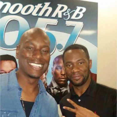 It's a @tyrese Quiet Storm w/ @seanandrelive Hot topics and good music! Tune in from 8-12am! #krnb #blackrose #quietstorm