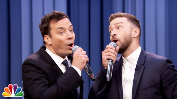 Jimmy Fallon & Justin Timberlake Do it Again with History of Hip Hop 6